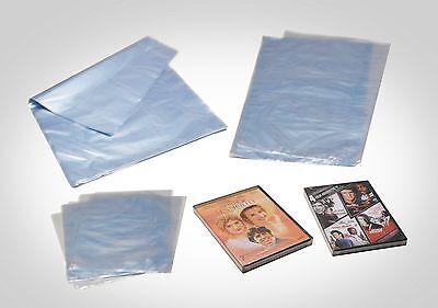 12 X 16 250 Pcs. 100 Gauge Pvc Heat Shrink Wrap Film Flat Bag