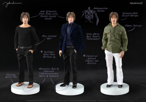Sideshow molecule 8 John Lennon 1/6 figure numbered limited edition with COA