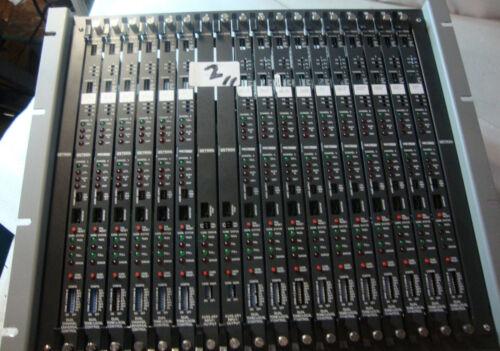 Zetron 4020 Dispatch 12 Card Console 950-9691 Cummunication Control System