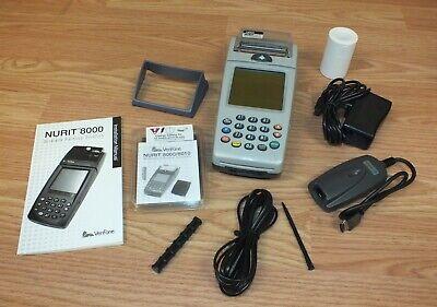 Verifone Nurit 8000s Wireless Palm Credit Card Terminal Use W Cell Phone Cib
