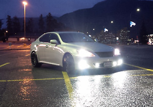 2008 Lexus IS250 - 2.5L DOHC - 6 Speed Trans. [Arrow Creek, BC]