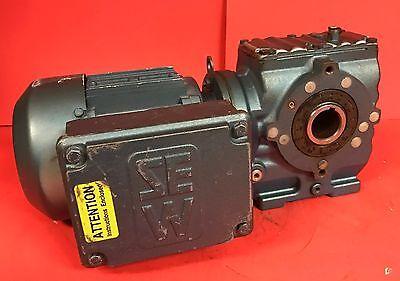 Sew Eurodrive Type Sa47dt71d4 Gearmotor - .5 Hp 1297 Lb-in Torq 110.73 Ratio