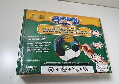 Design Your Own Soccer Ball (Design Your Own Soccer Ball Kit in Original)