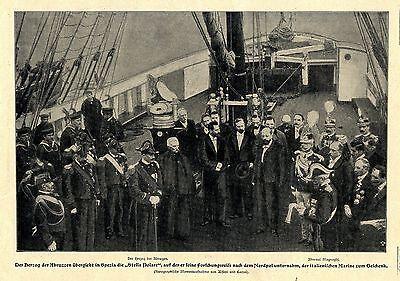 Nordpol-Forschung * STELLA POLARE * Herzog der Abruzzen  Bilddokument 1901