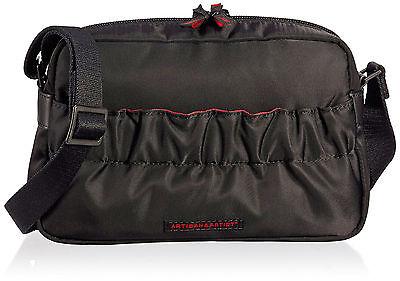 Designer Handtasche Nylon (Artisan&Artist kleiner Designer Tasche Damen Handtasche Bag KG2-706)