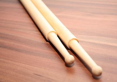 Schlagzeug Stöcke Drumsticks Marching Snare Drum Sticks Holzköpfe Marsch Trommel