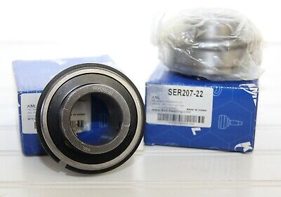 Lot Of 2 Kml Ser207-20 Bearings With Snap Rings New In Boxes Wrappers