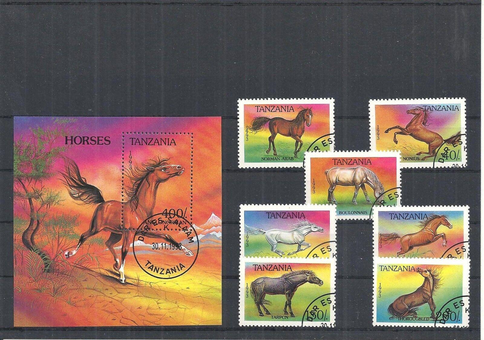 Afrika, Tansania/Tschad 1971 - 1994, Sammlungen mit Blöcken, sauber gestempelt o 1993