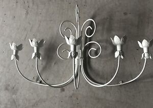 Wall mount candle holder