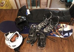 Sims Odyssey 125 snowboard package