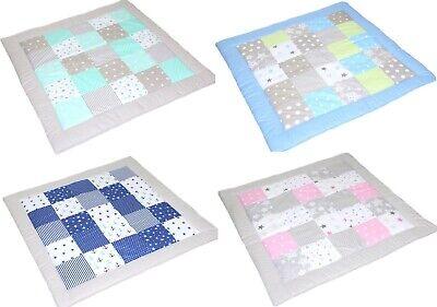 Spielmatte Patchwork für Baby Kind Spieldecke Decke