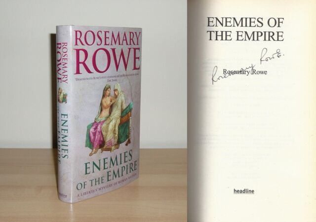 Rosemary Rowe - Enemies of the Empire - Signed - 1st/1st