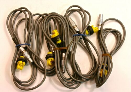 Lemo Circular Connector FGG 1B (3-pin) cable (3 ft)