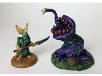/'Arboreal Horror/' resin models for Roleplaying and Wargames Triffid Trio