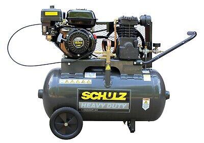 SCHULZ GAS AIR COMPRESSOR - 5.5HP 140PSI 20GAL HORIZ-PORTABLE MSL-15MAX