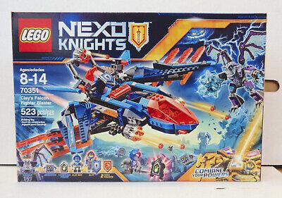 Nexo Knights: Clay's Falcon Fighter Blaster Set #70351 (2017) LEGO New Sealed