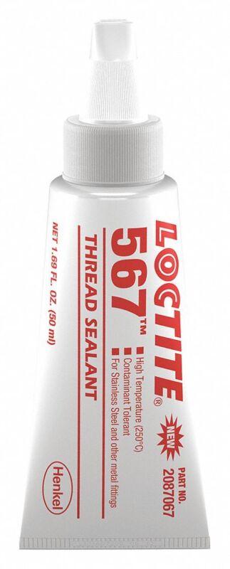 Loctite 2087067 567 General Purpose, High Temperature Thread Sealant, 50 mL Tube