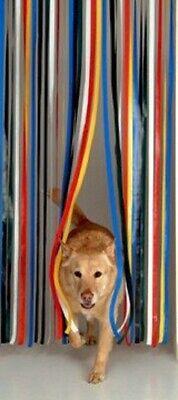 Holland Plastics Slat type Door Curtain Fly Strip Blind Choice of Colours **6431