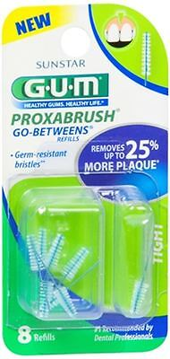 GUM Go-Betweens Proxabrush Refills Tight [414] 8 Each