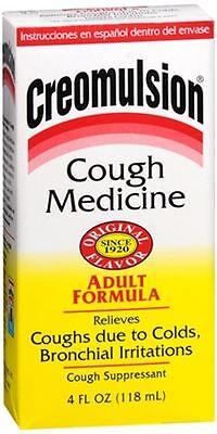 Creomulsion Cough Medicine Adult Formula 4 oz (Pack of (Formula Cough Syrup)
