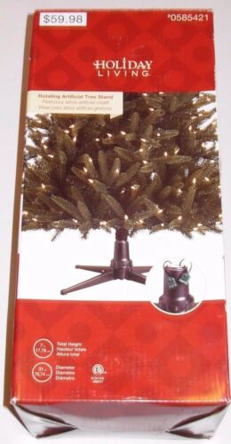 Holiday Living Revolving Tree Stand Artificial Tree up to 7.5 ft, New