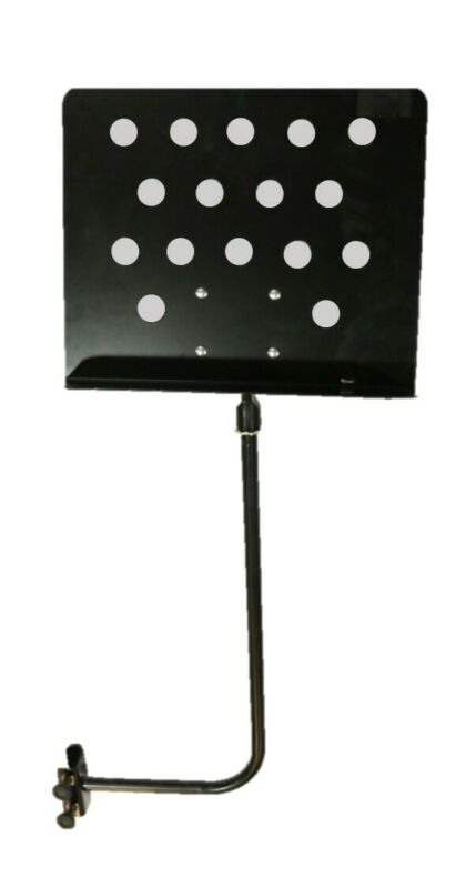 Mini Clamp-On Sheet Music/Tablet/Phone Microphone Stand Attachment