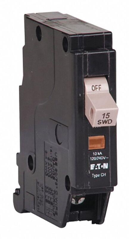 Eaton Corporation CHF115 Cutler Hammer 15A Single Pole Circuit Breaker