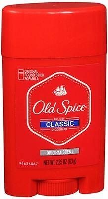 Old Spice Classic Deodorant Stick Original Scent 2.25 oz (Pack of 6)