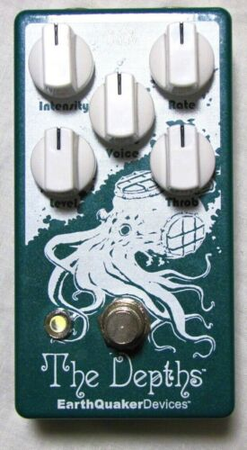 Used Earthquaker Devices The Depths V2 Optical Vibe Guitar Effects Pedal