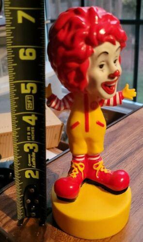 "Ronald McDonald Bobblehead 2002 Copyright 7 1/2"" Plastic Figurine AS-IS"