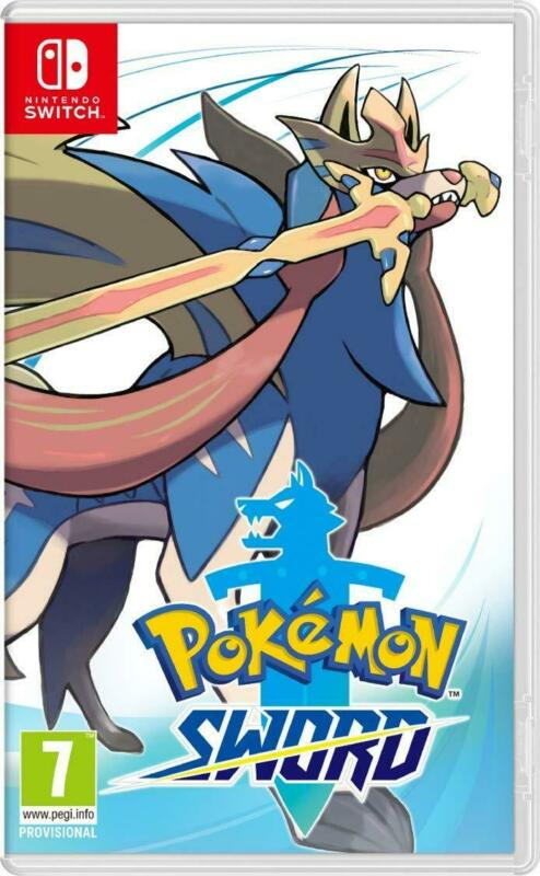 Pokemon Sword (Nintendo Switch, 2019) Brand New - Region Free