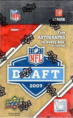 2009 Upper Deck Draft Editon Football Hobby Box - Factory Sealed! ()