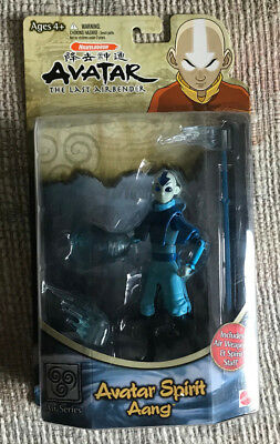 AVATAR THE LAST AIRBENDER AVATAR SPIRIT AANG ACTION FIGURE NICKELODEON MOC NEW, used for sale  York Haven
