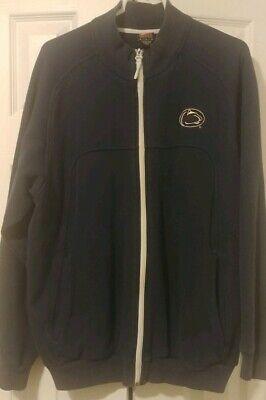 Penn State Nike Track Jacket Full Zip Sweatshirt Size Mens Large