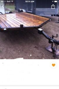 Wanted similar trailer steel or aluminum drive on /drive off