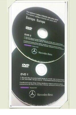 2019 Mercedes Navigation COMAND APS DVD1+DVD2 EUROPA SLS GLK C-Klasse NTG 4-204