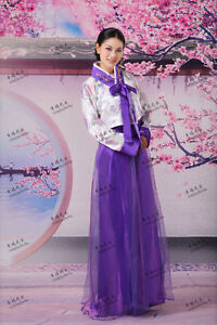 Sale Korea Traditional Hanbok Dramaturgic Costume Robe Dress