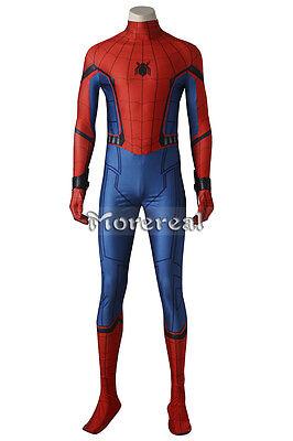 Spider-Man Homecoming Costume Cosplay Halloween Movie Superhero Peter Parker Set