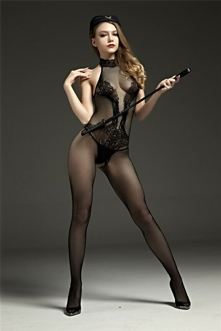 Novelty & Special Use Sexy Bodysuit Bodystockings See Through Hot Erotic Lingerie Fishnet Body Stockings Pantyhose Submission