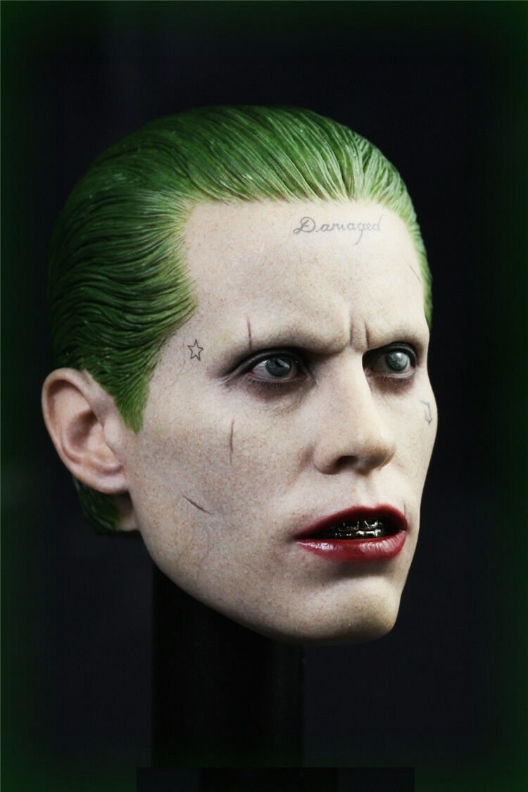 1//6 Joker Head Sculpt Jared Leto Suicide Squad For Hot Toys Phicen ❶IN STOCK❶