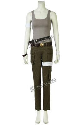 Tomb Raider Cosplay Lara Croft Costume Outfit Women T-shirt Halloween Garment - Halloween Costumes Lara Croft