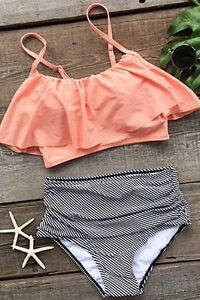 High waisted bikini set- NEW