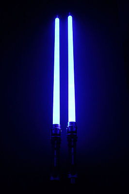 2 in 1 Led Style STAR WARS FX Lightsaber Light Saber Sword Lighting Toy Gift (Led Saber)