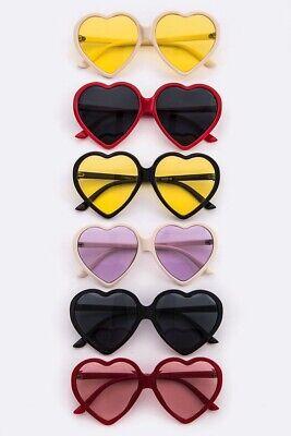 Womens Fashion Vintage Heart Eye Lens Triangle Sunglasses UV400 Eyewear (Triangle Shades Glasses)