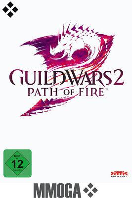 Guild Wars 2 II - Path of Fire Key - GW2 DLC Addon - PC Download Code [EU/DE]