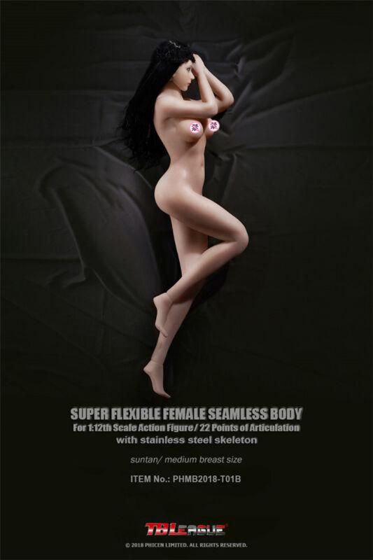 "TBLeague PHICEN 1//12 Female Seamless Body PHMB2018-T01B Barbie Figure 6/"" ❶USA❶"