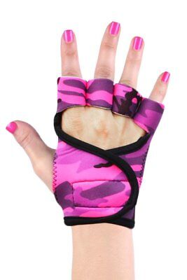 Women's Best Gym Workout Weightlifting Gloves by G-Loves - Pink (Best Gym For Women)