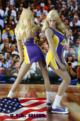 1/6 NBA Lakers Cheerleader Costumes Set A For 12