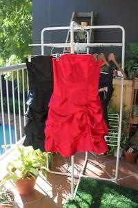 Red semi-formal/formal dress Kangaroo Point Brisbane South East Preview
