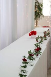 Beautiful backdrop for weddings, parties or just pictures.